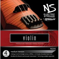 Комплект струн для электроскрипки  D'Addario NS310 NS Electric