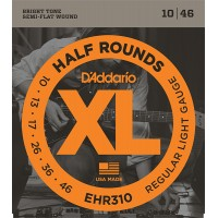 EHR310 Half Round  струны  для электрогитары, Regular Light, 10-46, D'Addario