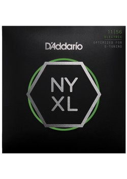 NYXL1156 NYXL струны для электрогитары, M Top / E-H Bottom, 11-56, D'Addario