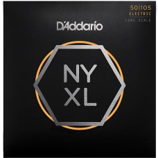 NYXL50105 NYXL струны для бас-гитары, Long Scale, Medium, 50-105, D'Addario