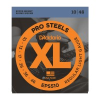 EPS510 XL PRO STEEL Струны для электрогитары Regular Light 10-46 D`Addario